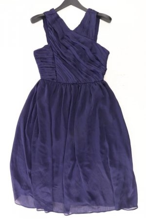 H&M Abendkleid Größe 40 Ärmellos blau aus Polyester