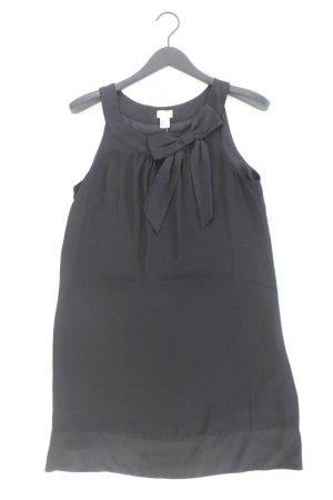 H&M Abendkleid Größe 40 Ärmellos schwarz aus Polyester