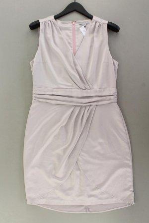 H&M Abendkleid Größe 42 Ärmellos silber aus Polyester
