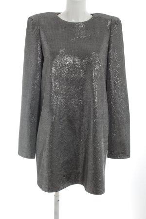 H&M Abendkleid hellgrau extravaganter Stil