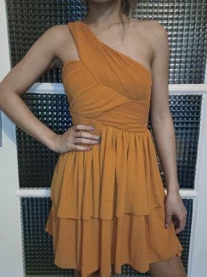 H&M Abendkleid [Orange/Ocker, Gr. XS]