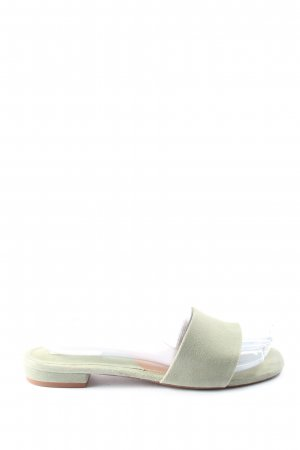 H&M Absatz Pantoletten creme Casual-Look