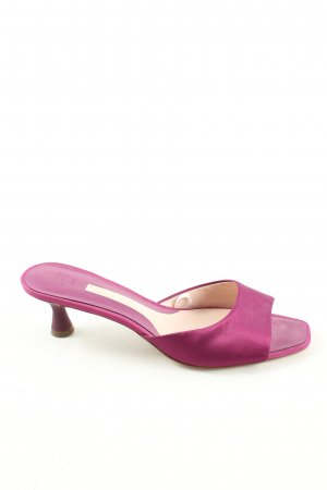 H&M Absatz Pantoletten pink Elegant