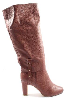 H&M Heel Boots brown casual look