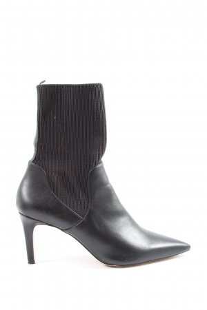 H&M Absatz Stiefel schwarz-braun Casual-Look