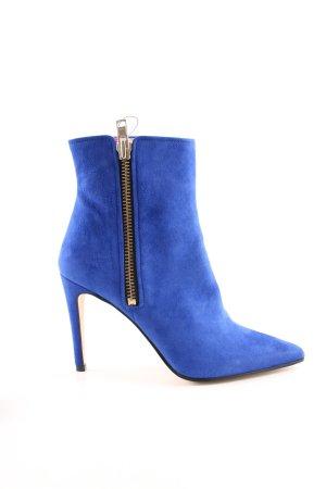 H&M Absatz Stiefel blau Elegant