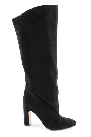 H&M Absatz Stiefel schwarz Business-Look