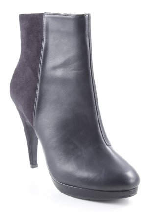 H&M Absatz Stiefel schwarz Casual-Look