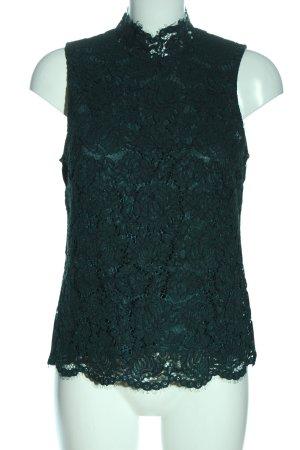 H&M ärmellose Bluse grün Casual-Look