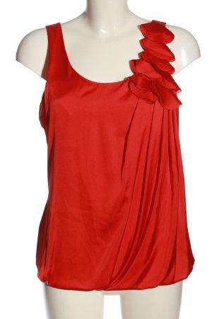H&M ärmellose Bluse rot Elegant