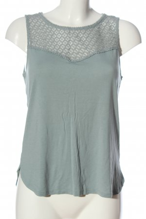 H&M ärmellose Bluse türkis Casual-Look