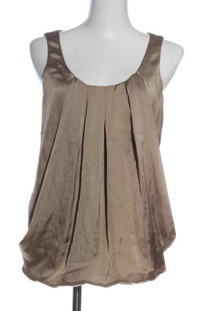 H&M ärmellose Bluse braun Elegant