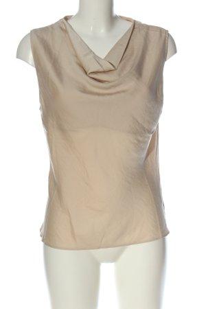 H&M ärmellose Bluse creme Elegant