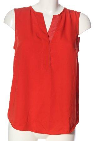 H&M ärmellose Bluse rot Casual-Look