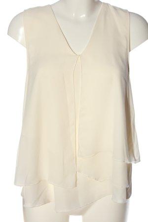 H&M ärmellose Bluse creme Casual-Look