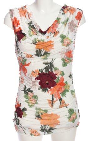 H&M Waterval shirt bloemenprint casual uitstraling