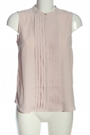 H&M Sleeveless Blouse cream allover print casual look