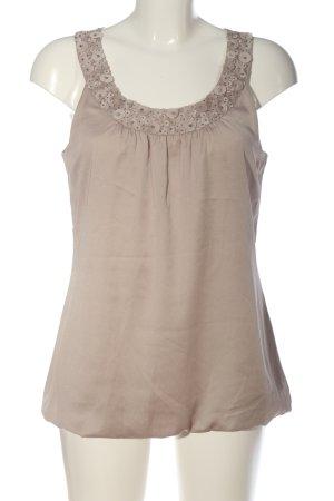 H&M ärmellose Bluse braun Casual-Look