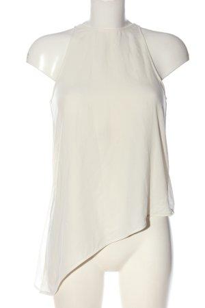 H&M ärmellose Bluse weiß Elegant
