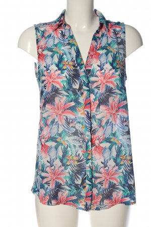 H&M ärmellose Bluse Allover-Druck Casual-Look