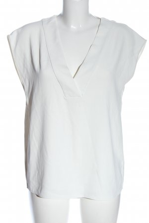 H&M Bluzka bez rękawów biały W stylu casual