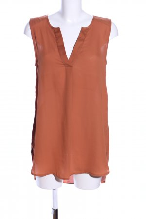 H&M ärmellose Bluse hellorange Casual-Look
