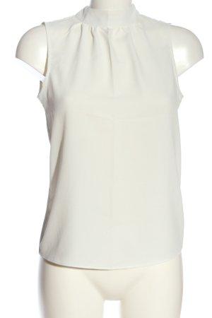 H&M ärmellose Bluse weiß Business-Look