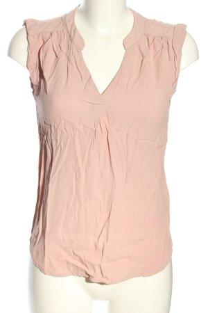 H&M ärmellose Bluse pink Casual-Look