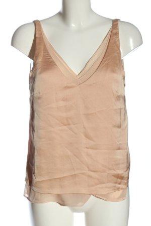 H&M ärmellose Bluse nude Elegant