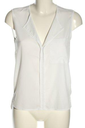 H&M ärmellose Bluse weiß Casual-Look