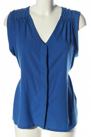 H&M Sleeveless Blouse blue casual look