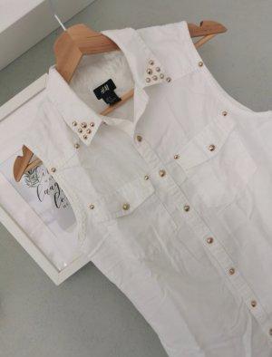 H&M ärmellose Bluse