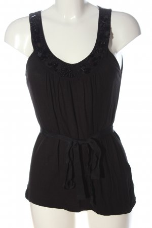 H&M Blouse topje zwart casual uitstraling