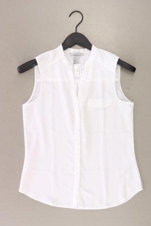 H&M Ärmellose Bluse Größe 34 weiß aus Polyester