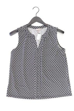H&M Ärmellose Bluse Größe 36 schwarz aus Polyester