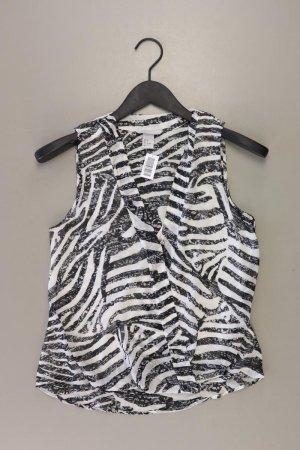 H&M Ärmellose Bluse Größe 36 weiß