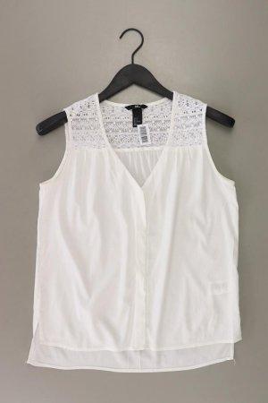H&M Ärmellose Bluse Größe 36 weiß aus Polyester