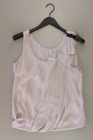 H&M Ärmellose Bluse Größe 38 grau aus Polyester