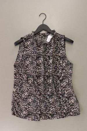 H&M Ärmellose Bluse Größe 44 mehrfarbig aus Polyester
