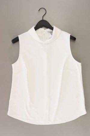 H&M Ärmellose Bluse Größe 44 weiß aus Polyester