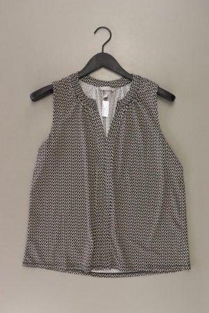 H&M Ärmellose Bluse Größe M schwarz aus Polyester