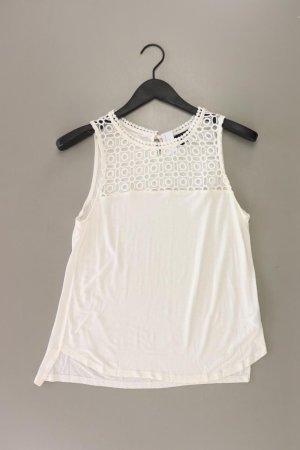 H&M Ärmellose Bluse Größe S creme aus Viskose