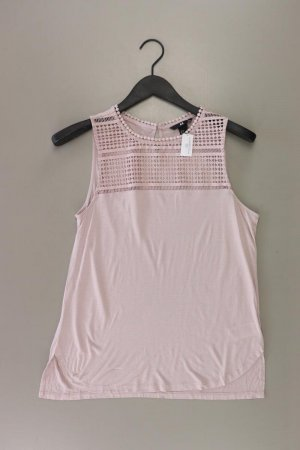 H&M Ärmellose Bluse Größe S rosa