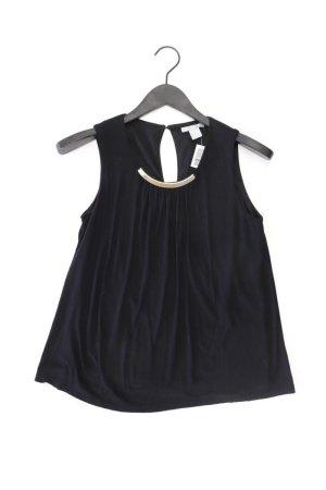H&M Ärmellose Bluse Größe S schwarz aus Viskose