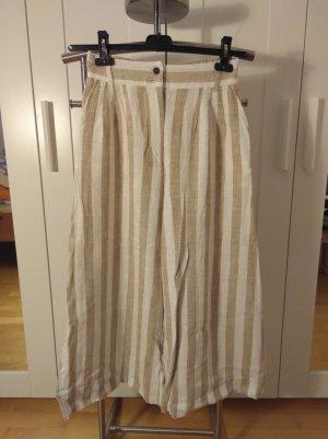 H&M Pantalone di lino multicolore Tessuto misto