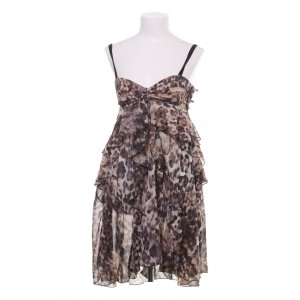 H&M Premium Babydoll Dress multicolored polyester