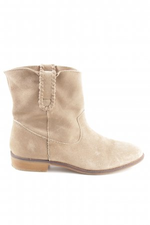 H&M Ankle Boots creme Casual-Look