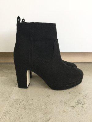 H&M Ankle Boots Schwarz