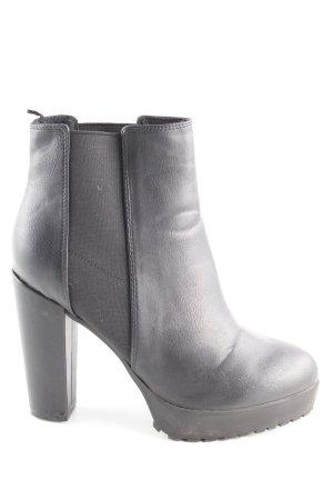 H&M Ankle Boots schwarz Elegant