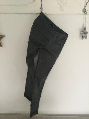H&M Anthrazit Grau Größe XS 34 Hose